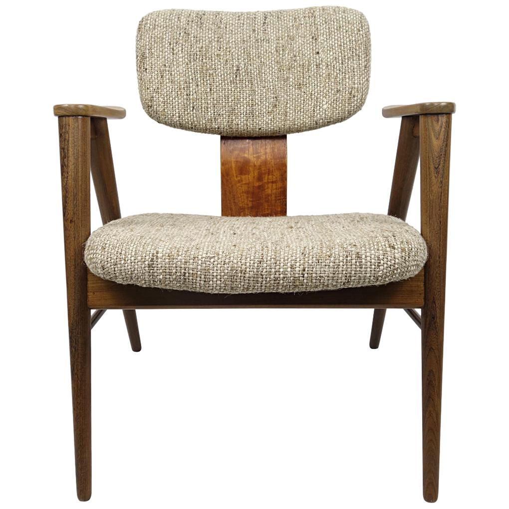 Mid-Century Modern Teak Lounge Chair FT14 by Cees Braakman for Pastoe