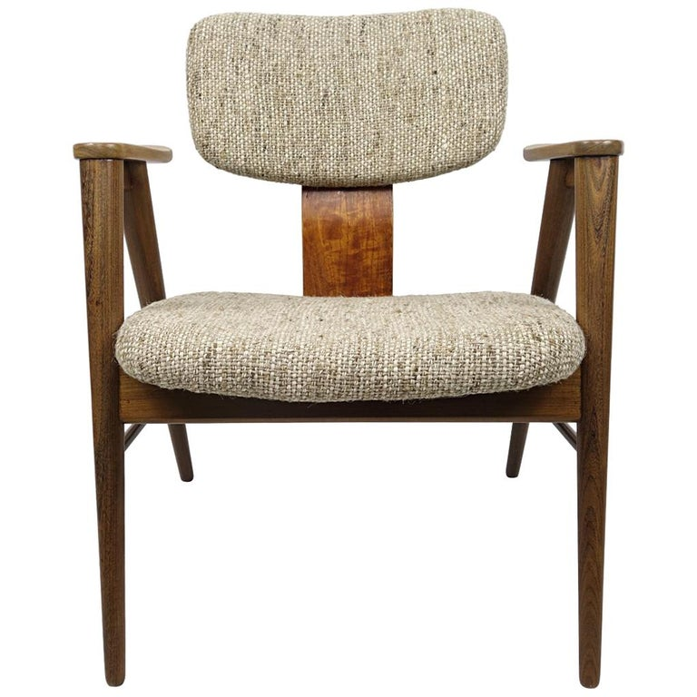 Mid-Century Modern Teak Lounge Chair FT14 by Cees Braakman for Pastoe For Sale