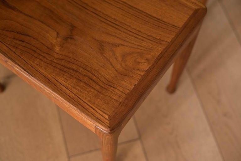 Mid-Century Modern Teak Set of Nesting Tables For Sale 6