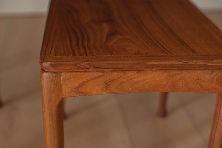 Mid-Century Modern Teak Set of Nesting Tables For Sale 8