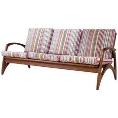 Mid-Century Modern Teak Sofa or Bench by De Ster Gelderland, 1960s