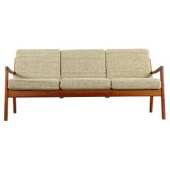 Mid-Century Modern Teak Sofa, Senator Series by Ole Wanscher for France and Son