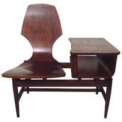 Mid-Century Modern Telephone Chair