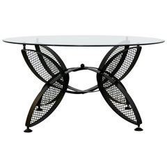Mid-Century Modern Tempestini for Salterini Butterfly Patio Coffee Table, 1960s