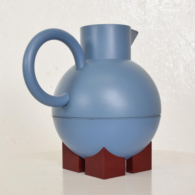 Mid-Century Modern Thermos Carafe Model Euclid by Michael Graves for Alessi In Good Condition For Sale In National City, CA
