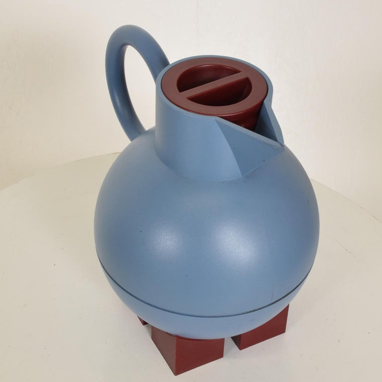 Late 20th Century Mid-Century Modern Thermos Carafe Model Euclid by Michael Graves for Alessi For Sale