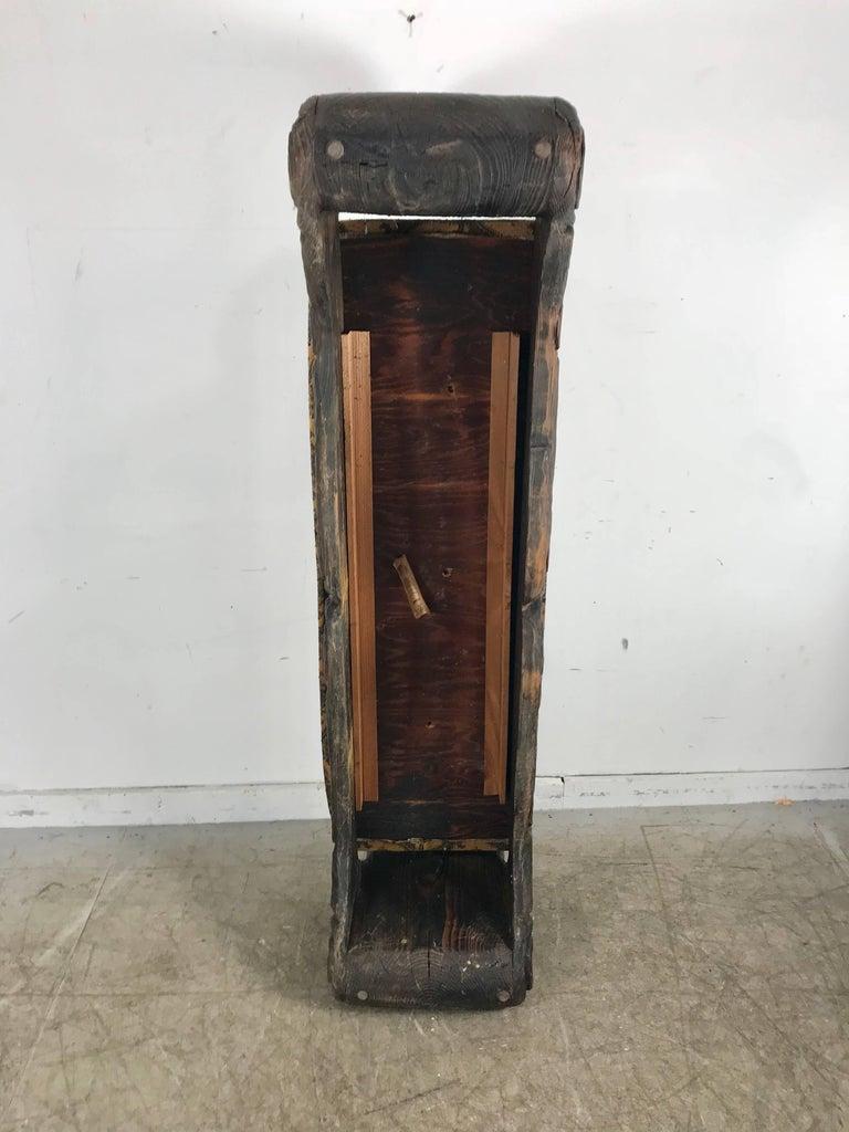 20th Century Mid-Century Modern Tiki Bench, Witco Decor For Sale