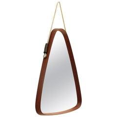 Mid-Century Modern Triangolar Frame Mirror, 1960s