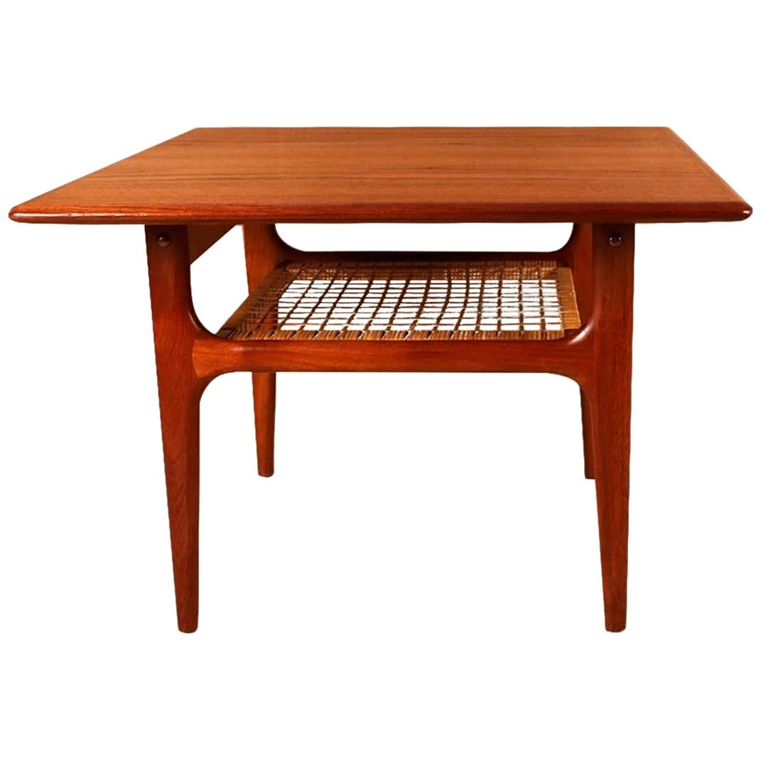 Mid-Century Modern Trioh Danish Teak End Table