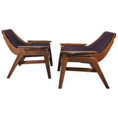 Mid-Century Modern Triumph I Sling Chairs by Jerry Johnson for Charlton