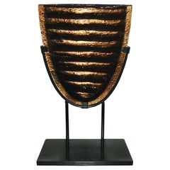 Mid-Century Modern Unique Piece Murano Aventurine Glass Sculpture
