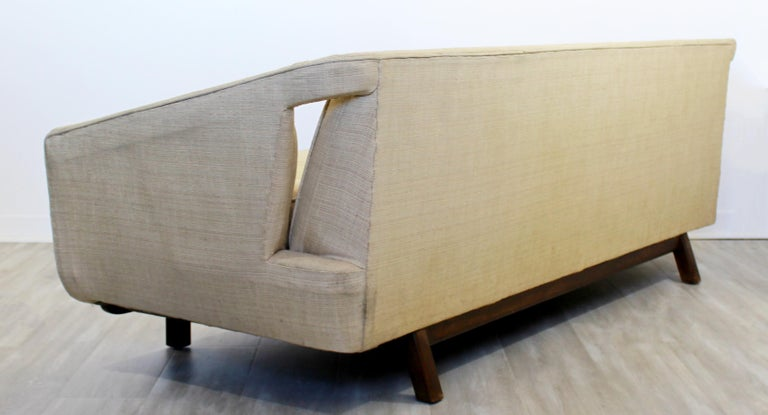 Mid-Century Modern Unique Sculptural Sofa Attributed to Dunbar or Laszlo, 1960s For Sale 2