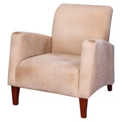 Mid-Century Modern Upholstered Armchair, Manner of Paolo Buffa, Italy