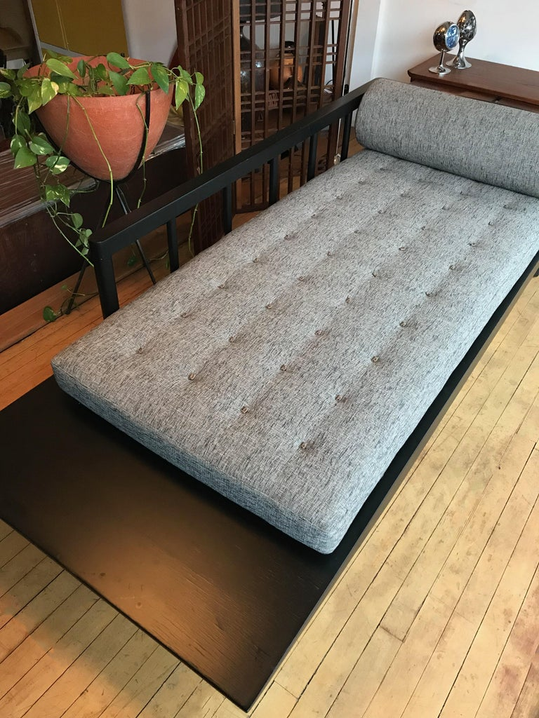 Mid Century Modern Upholstered Cantilever Daybed Sofa For ...