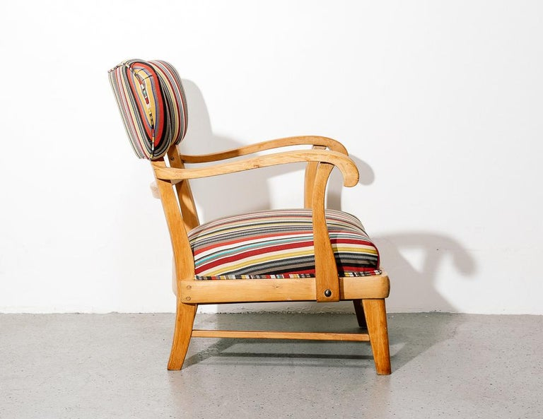 Mid-20th Century Mid-Century Modern Upholstered Lounge Chair