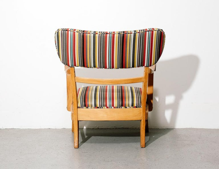 Mid-Century Modern Upholstered Lounge Chair 1