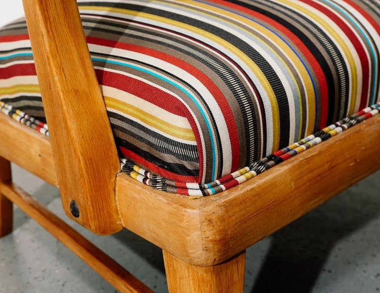 Mid-Century Modern Upholstered Lounge Chair 3