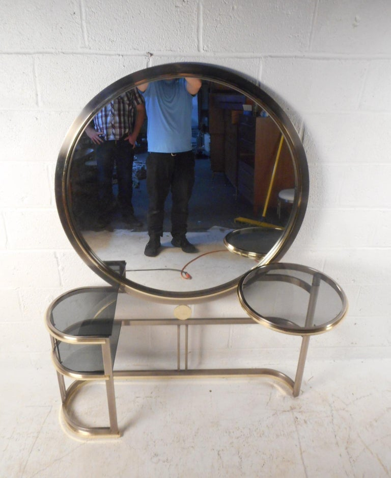 American Mid-Century Modern Vanity by DIA For Sale
