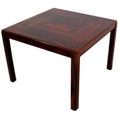 Mid-Century Modern Vejle Stole Og Mobelfabrik Rosewood Side Table, Denmark 1960s