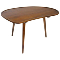Mid-Century Modern Vintage Beech and Cherry Coffee Table, circa 1950