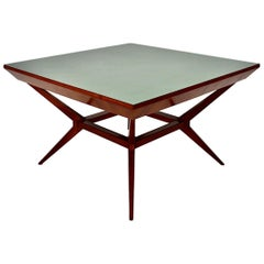 Mid-Century Modern Vintage Cherry Dining Table Franz Schuster Attributed, Vienna