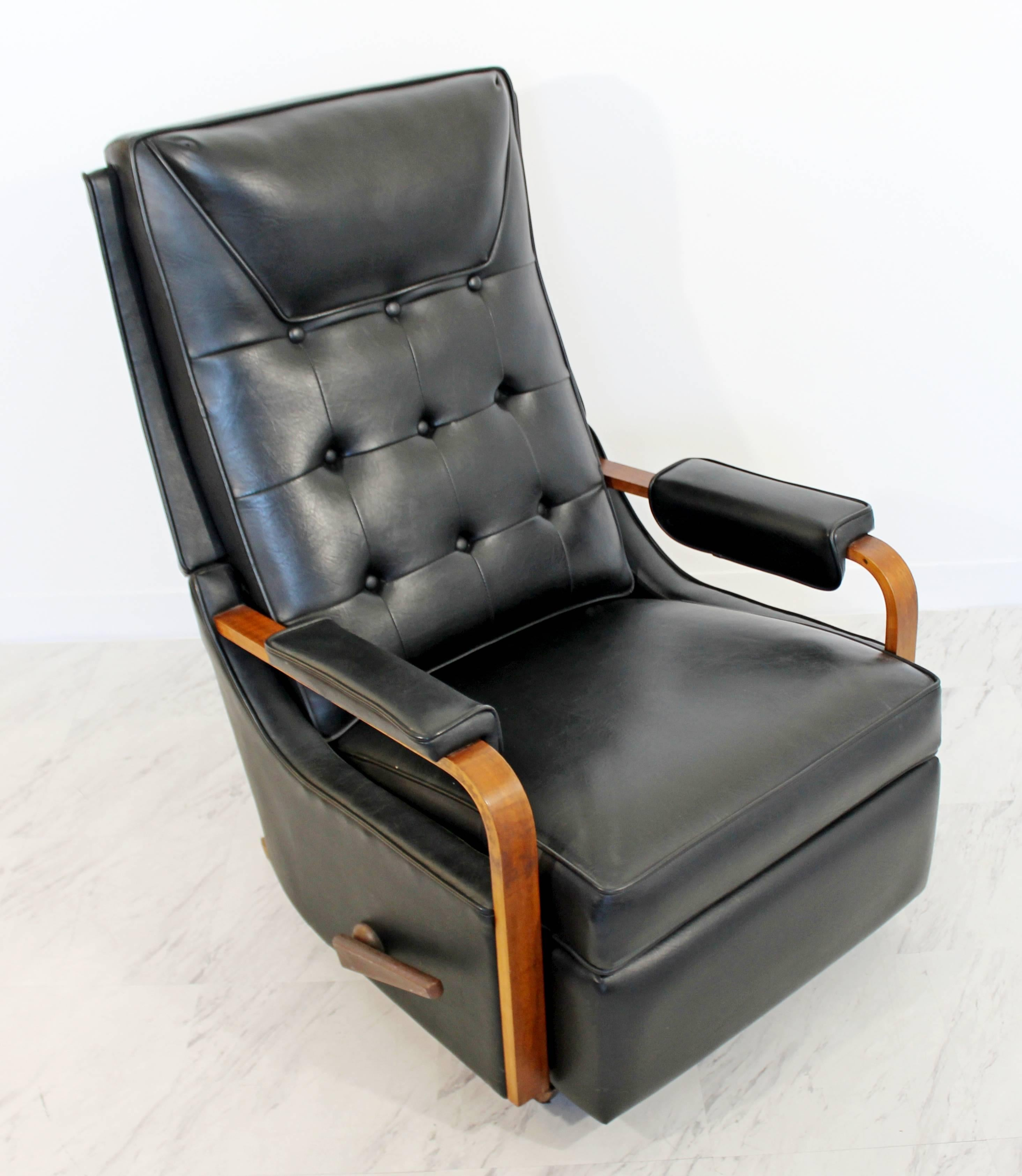 For Your Consideration Is An Original, Classic La Z Boy Reclining Rocking  Chair