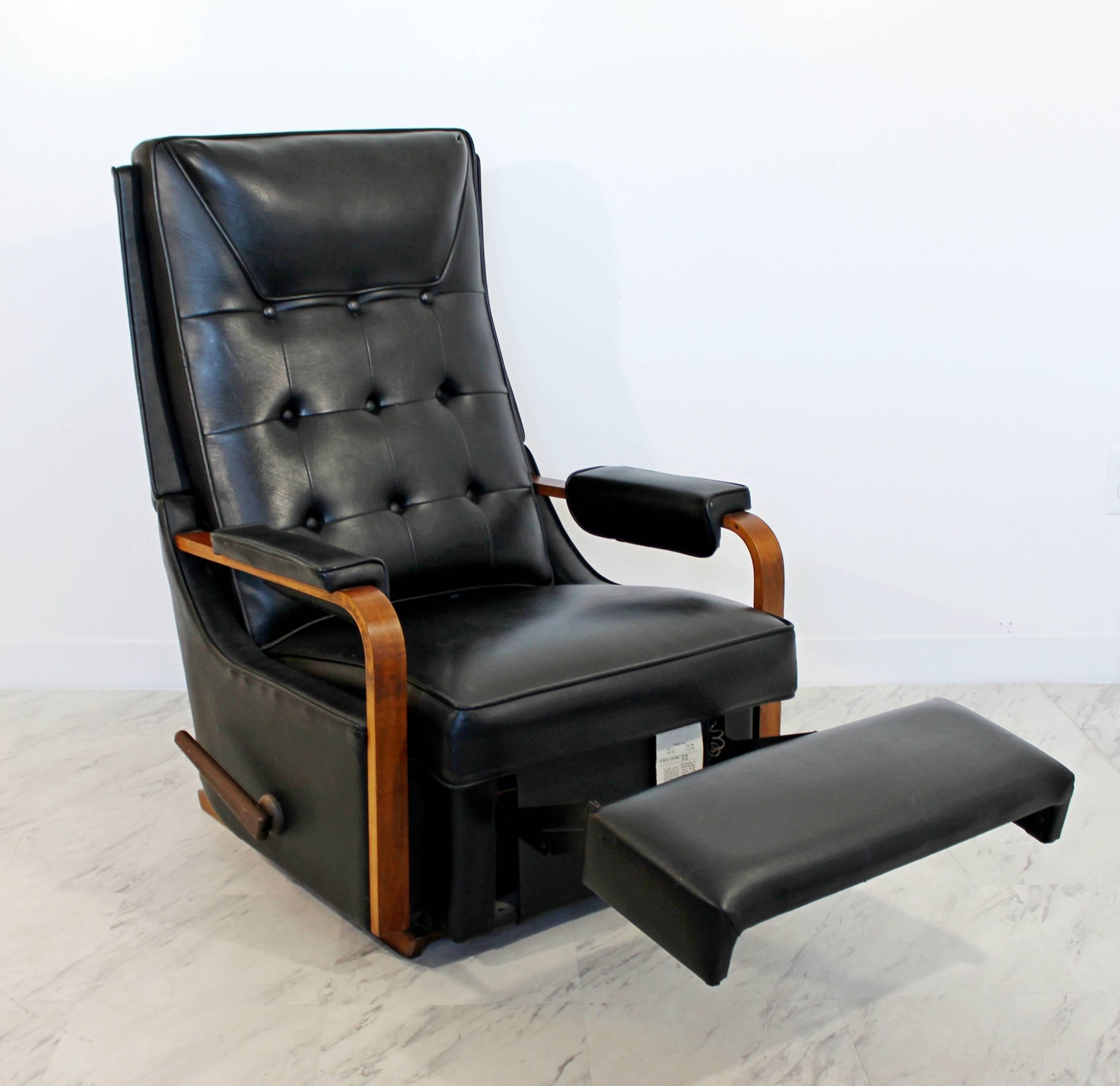 mission gustav reclining inspired arm recliner oak bent product rocker morris furniture stickley voorhees large craftsman slant