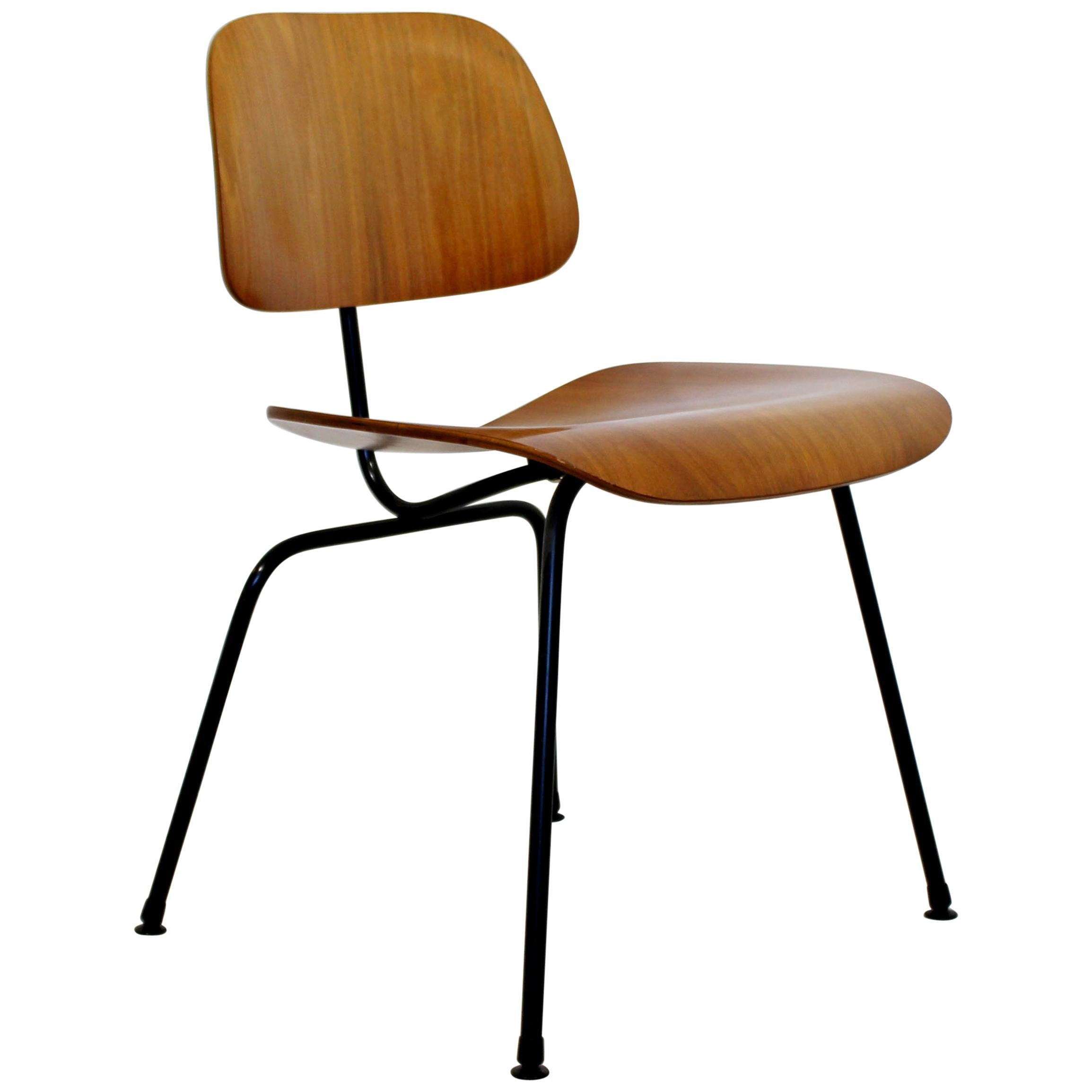 Mid Century Modern Vintage Eames LCM Lounge Desk Chair By Herman Miller For  Sale