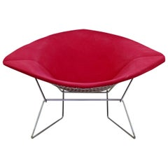 Mid-Century Modern Vintage Harry Bertoia Diamond Lounge Accent Chair, 1960s