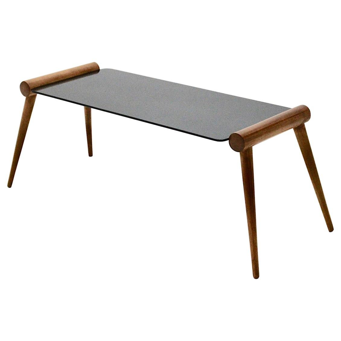 Mid-Century Modern Vintage Maple Tree Coffee Table by Max Kment, Vienna, 1950s