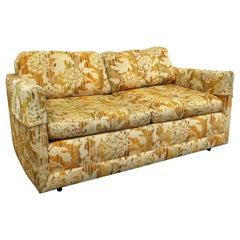 Mid-Century Modern Vintage Forecast Loveseat Sofa