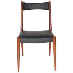 Mid-Century Modern Vintage Rosewood Chair by Anna-Lülja Praun 1953 Austria
