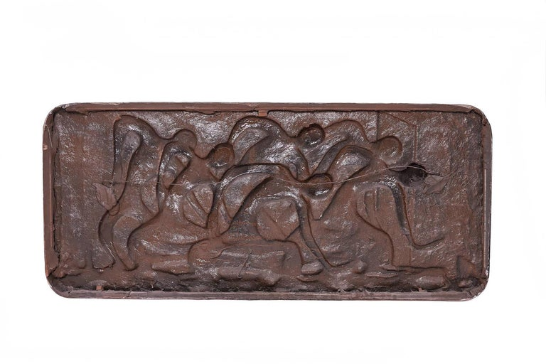 Mid-Century Modern Wall Finesse Relief Sculpture For Sale 1
