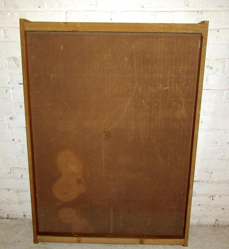 Mid-Century Modern Wall Mirror For Sale 5
