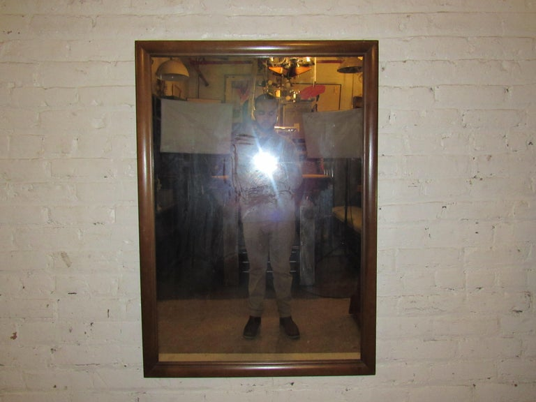 Mid-Century Modern Wall Mirror For Sale 9