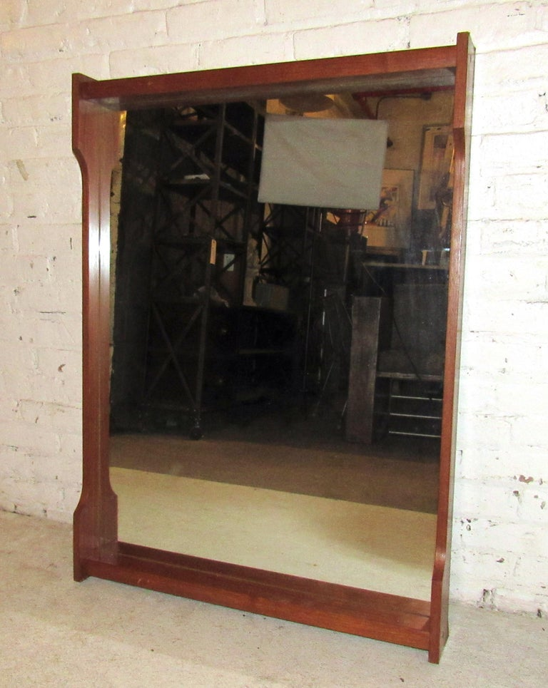 Mid-20th Century Mid-Century Modern Wall Mirror For Sale