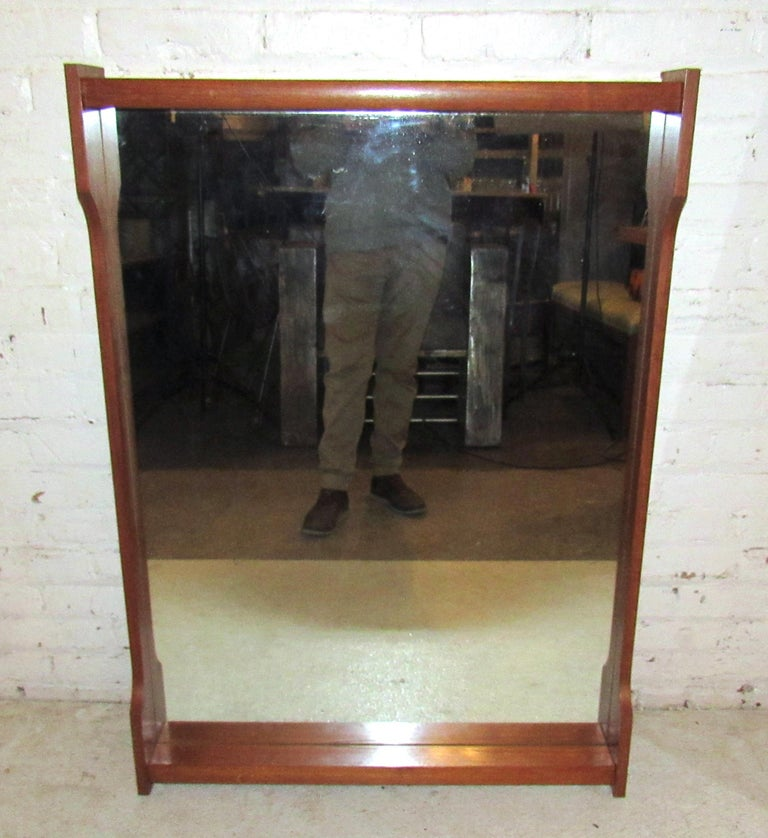 Mid-Century Modern Wall Mirror For Sale 1