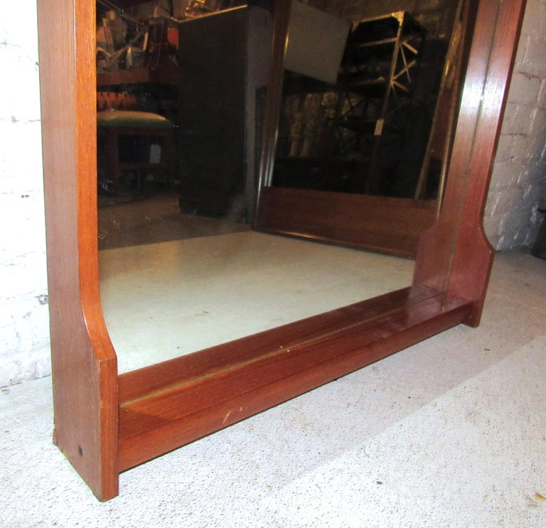 Mid-Century Modern Wall Mirror For Sale 3
