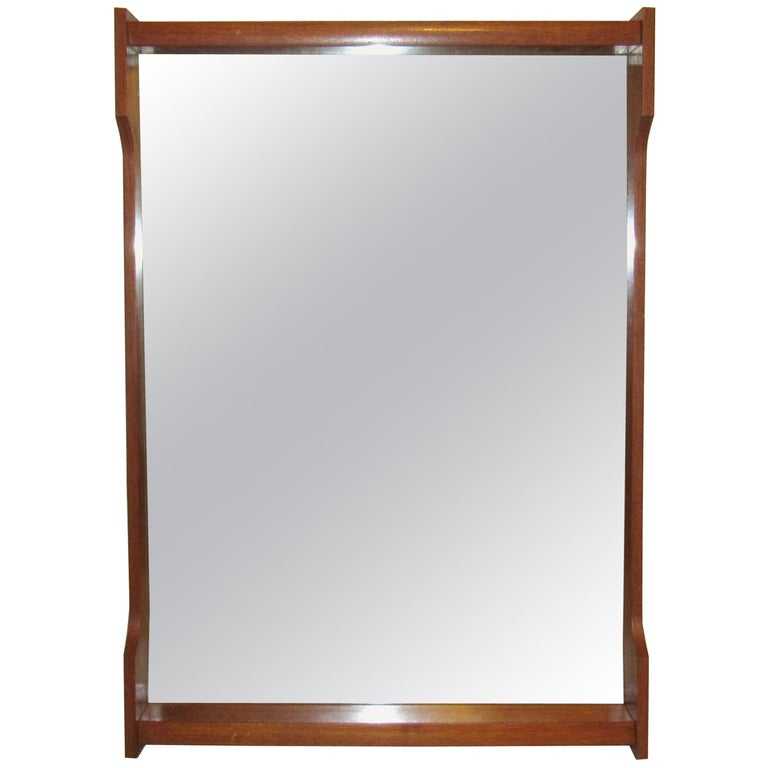 Mid-Century Modern Wall Mirror For Sale