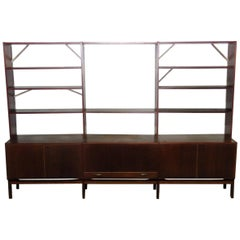 Mid-Century Modern Wall Unit, manner of Nils Thorsson
