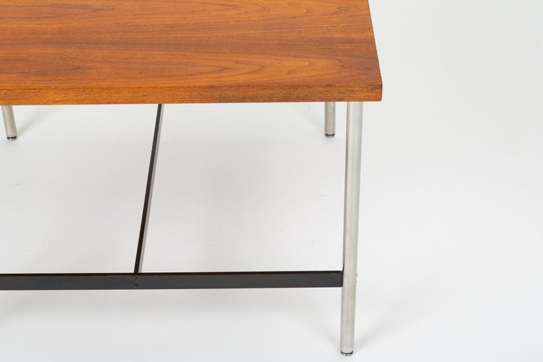 Mid-Century Modern Walnut Children's Work Table by Herman Miller For Sale 11
