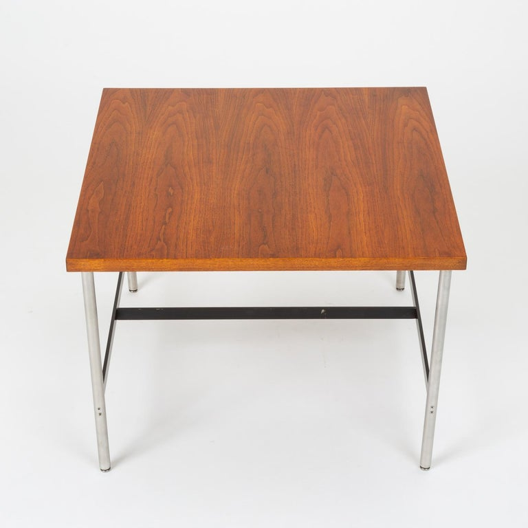 Brushed Mid-Century Modern Walnut Children's Work Table by Herman Miller For Sale