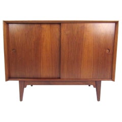 Mid-Century Modern Walnut Credenza Attributed to Arne Vodder