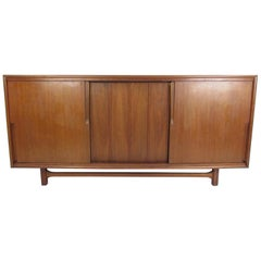 Mid-Century Modern Walnut Credenza by Cavalier Furniture
