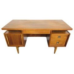 Mid-Century Modern Walnut Desk
