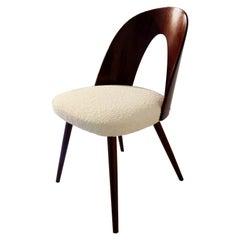 Mid-Century Modern Walnut Dining Chair by Antonin Suman