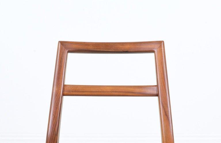 Mid-Century Modern Walnut Dining Chairs 1