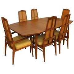 Mid-Century Modern Walnut Dining Set by Foster-McDavid