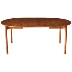 Mid-Century Modern Walnut Dining Table by Greta Grossman for Glenn of California