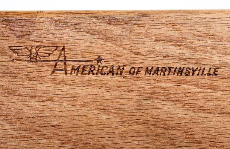 Mid-Century Modern Walnut Dresser by American of Martinsville For Sale 4